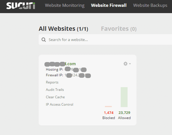 sucuri firewall review